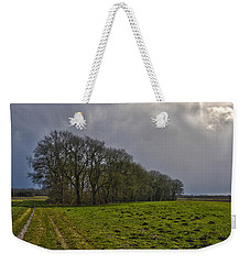 Group Of Trees Against A Dark Sky Weekender Tote Bag