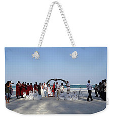 Group Wedding Photo Africa Beach Weekender Tote Bag