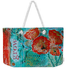Weekender Tote Bag featuring the painting Grow 8x12 by Jocelyn Friis