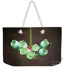 Growing Blueberries Weekender Tote Bag by Kim Henderson