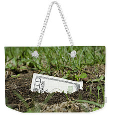 Growing Money Weekender Tote Bag