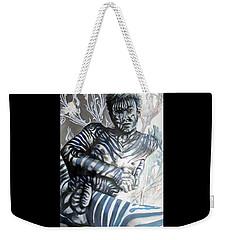 Growing Pains Zebra Boy  Weekender Tote Bag