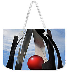 Weekender Tote Bag featuring the photograph Growing Sculpture by Christopher McKenzie