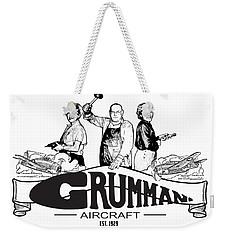 Grumman Aircraft Est 1929 Weekender Tote Bag