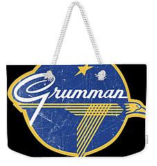 Grumman Est 1929 Distressed Weekender Tote Bag