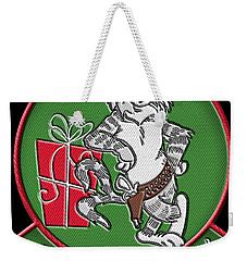 Grumman Merry Christmas Weekender Tote Bag