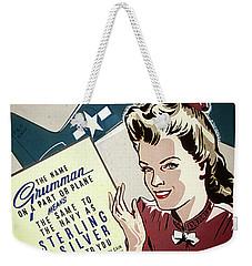 Grumman Sterling Poster Weekender Tote Bag