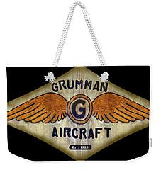 Grumman Wings Diamond Weekender Tote Bag