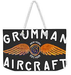 Grumman Wings Gold Weekender Tote Bag