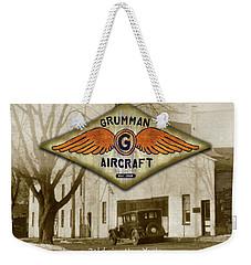 Grumman Wings Weekender Tote Bag