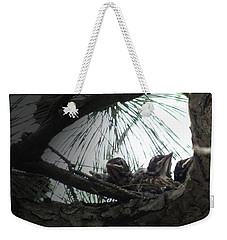 Grumpy Birds Weekender Tote Bag