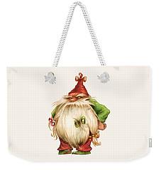 Grumpy Gnome Weekender Tote Bag by Andy Catling