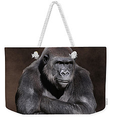 Grumpy Gorilla Weekender Tote Bag