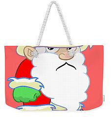 Grumpy Santa Weekender Tote Bag