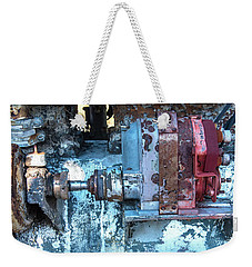 Grungy Engine Weekender Tote Bag
