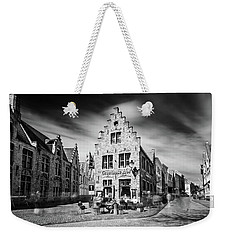 Weekender Tote Bag featuring the photograph Gruuthuse Hof In Bruges by Barry O Carroll