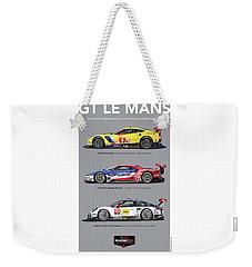 Gt Le Mans Poster Weekender Tote Bag