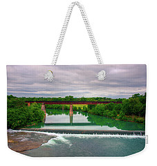 Guadeloupe River Weekender Tote Bag