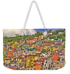 Guanajuato Hillside Weekender Tote Bag by Juli Scalzi