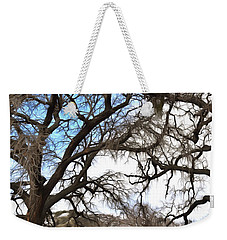 Weekender Tote Bag featuring the photograph Guard Shack At Fort Tejon Lebec California by Floyd Snyder