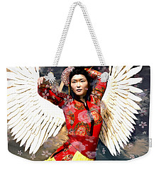 Guardian Angel 8 Weekender Tote Bag