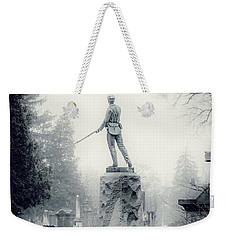 Weekender Tote Bag featuring the photograph Guardian by Kendall McKernon