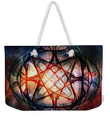 Guardian Of Light Weekender Tote Bag