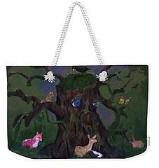 Guardian Of The Woods Weekender Tote Bag