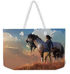 Guardians Of The Plains Weekender Tote Bag by Daniel Eskridge