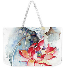Guarding The Secret Passage Weekender Tote Bag