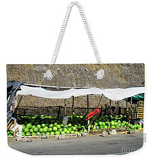Guatemala Stand 2 Weekender Tote Bag by Randall Weidner