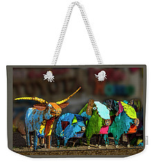 Weekender Tote Bag featuring the photograph Guess Who's Coming To Dinner by Paul Wear