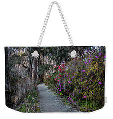 Guide Our Feet Into The Path Of Peace. Luke 1.79  Weekender Tote Bag