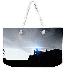Guiding Light-alcatraz Weekender Tote Bag