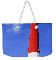Weekender Tote Bag featuring the painting Guiding Light by Lynne Reichhart