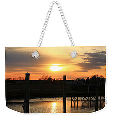 Guilford Low Tide Weekender Tote Bag by Catie Canetti