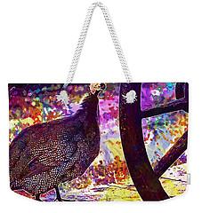 Guinea Fowl Guinea Fowl Chicken  Weekender Tote Bag