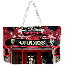 Weekender Tote Bag featuring the photograph Guinness Beer 5 by Andrew Fare