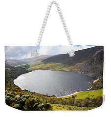 Guinness Lake In Wicklow Mountains  Ireland Weekender Tote Bag by Semmick Photo