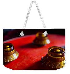 Guitar Controls Series Weekender Tote Bag