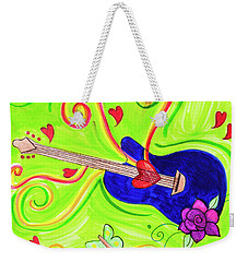 Sound Of Swirls Weekender Tote Bag