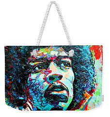 Guitar Legend Weekender Tote Bag
