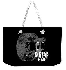 Weekender Tote Bag featuring the photograph Guitar Planet  by Guitar Wacky