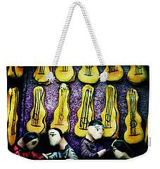 Guitar Shop Weekender Tote Bag
