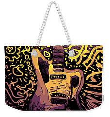 Guitar Slinger Weekender Tote Bag