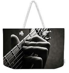 Guitarist Hand Close-up Weekender Tote Bag