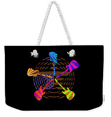 Guitars Stars And Stripes  Weekender Tote Bag