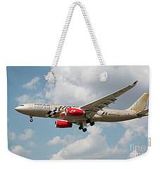 Gulf Air A330 Weekender Tote Bag