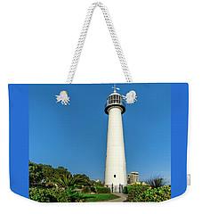 Gulf Coast Lighthouse Seascape Biloxi Ms 3773a Weekender Tote Bag