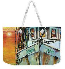 Gulf Coast Shrimper Weekender Tote Bag